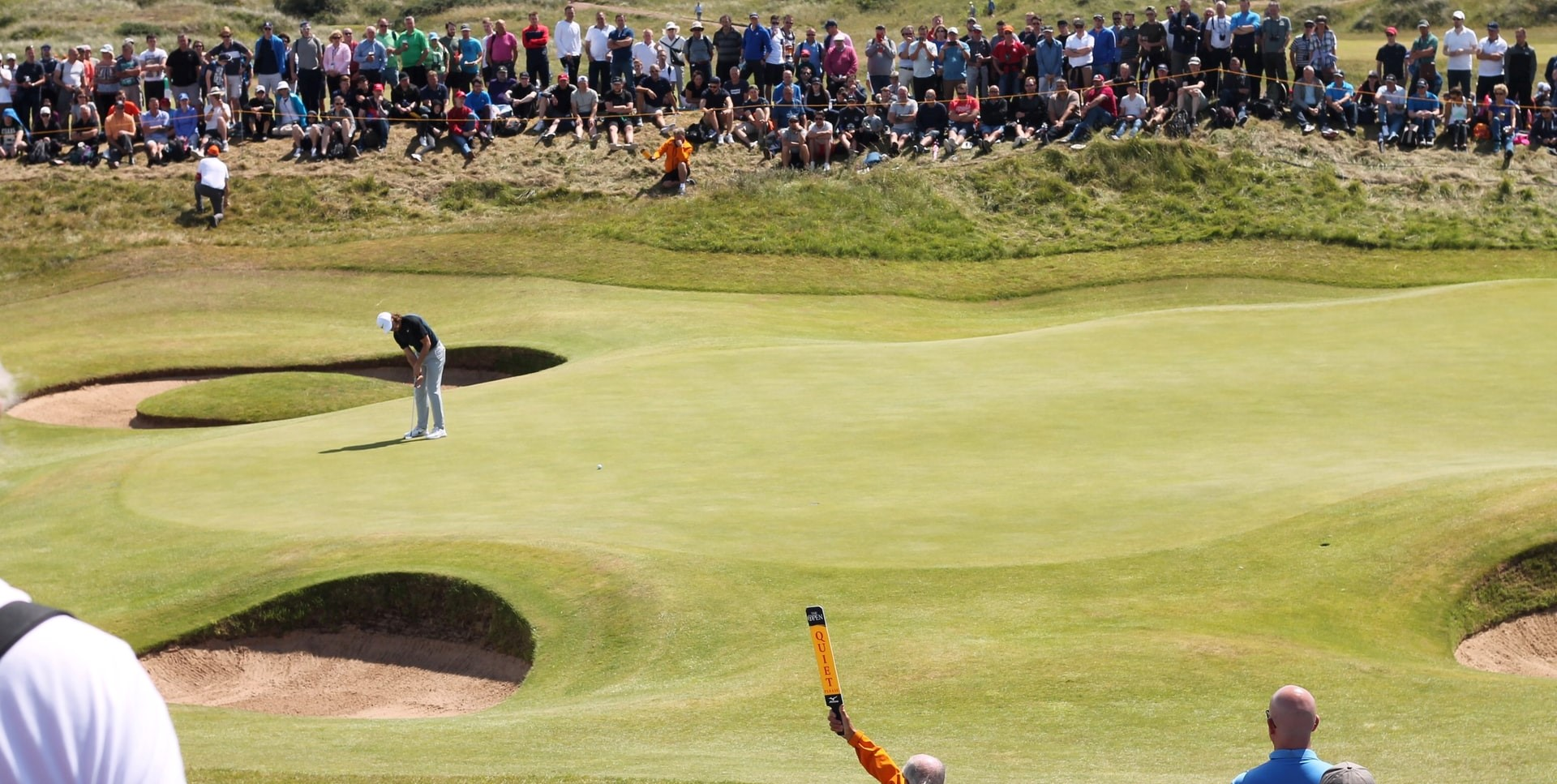 Royal Birkdale Golf Course at the 2017 Open