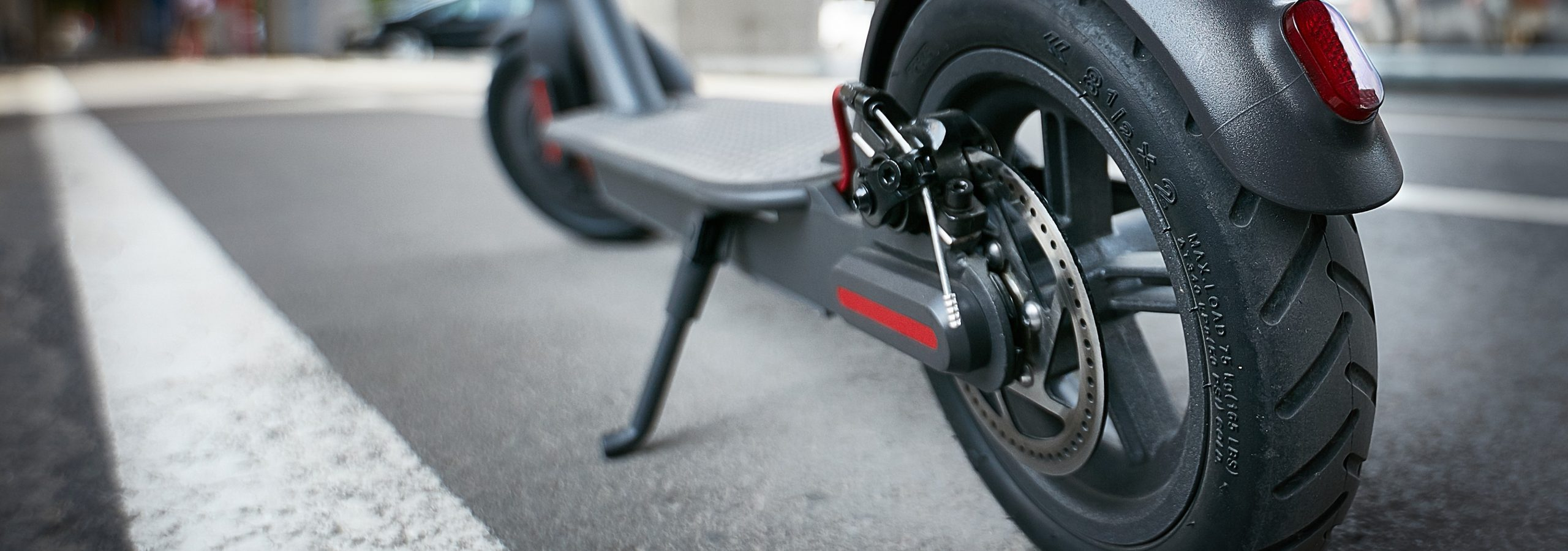 electric scooter rear brake